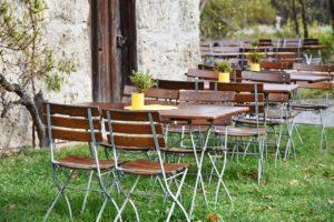 Gaststätten Werbung: ohne sie bleiben Plätze leer
